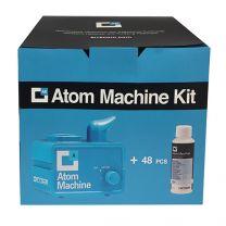 Electronic ultrasonic nebulizer kit = 48 applications of sanitizing liquid