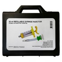 Refillable Syringe injector R1234YF, 50 ml