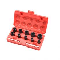 "3/8""+1/2""DR Twist Socket Set(12 pcs)"