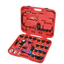 Cooling System Leakage Tester and Vacuum-Type Coolant Refilling Kit (29 pcs)