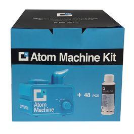 ERRECOM Atom Machine ULTRASONIC Nebulizer 12V per la Pulizia dei sistemi di condizionamento purificante 48 Atom Ultra Puri 0,12 L
